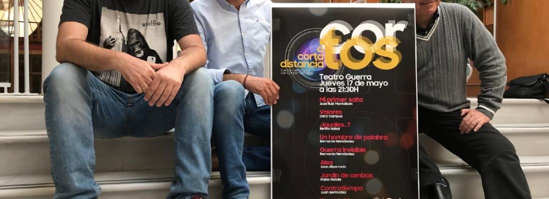 El Teatro Guerra acoge este jueves el certamen local de cortometrajes «A corta distancia»
