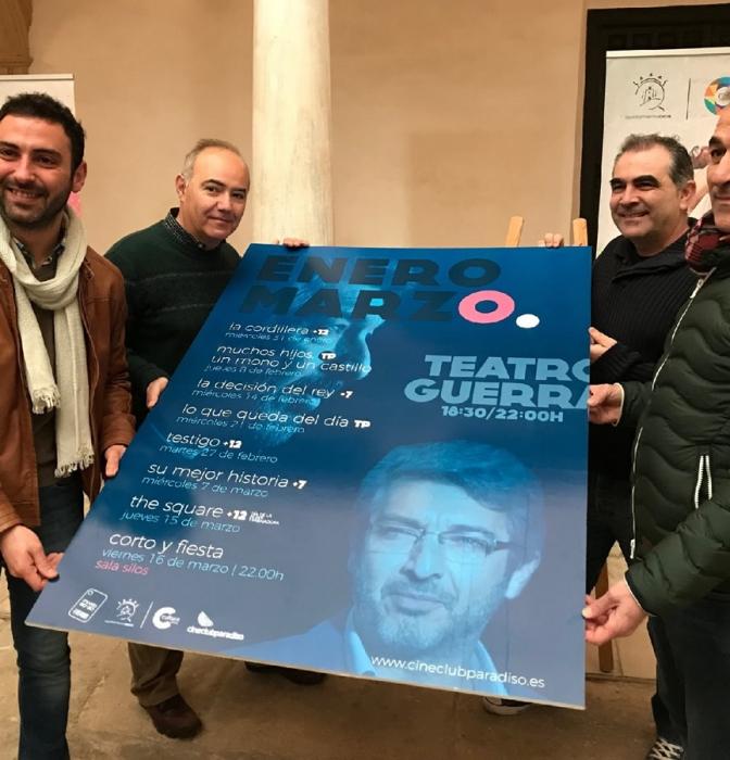 Cineclub Paradiso presenta su programación para el primer trimestre del año